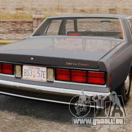 Chevrolet Caprice 1989 pour GTA 4 Vue arrière de la gauche