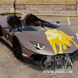 Lamborghini Aventador J Big Lambo pour GTA 4