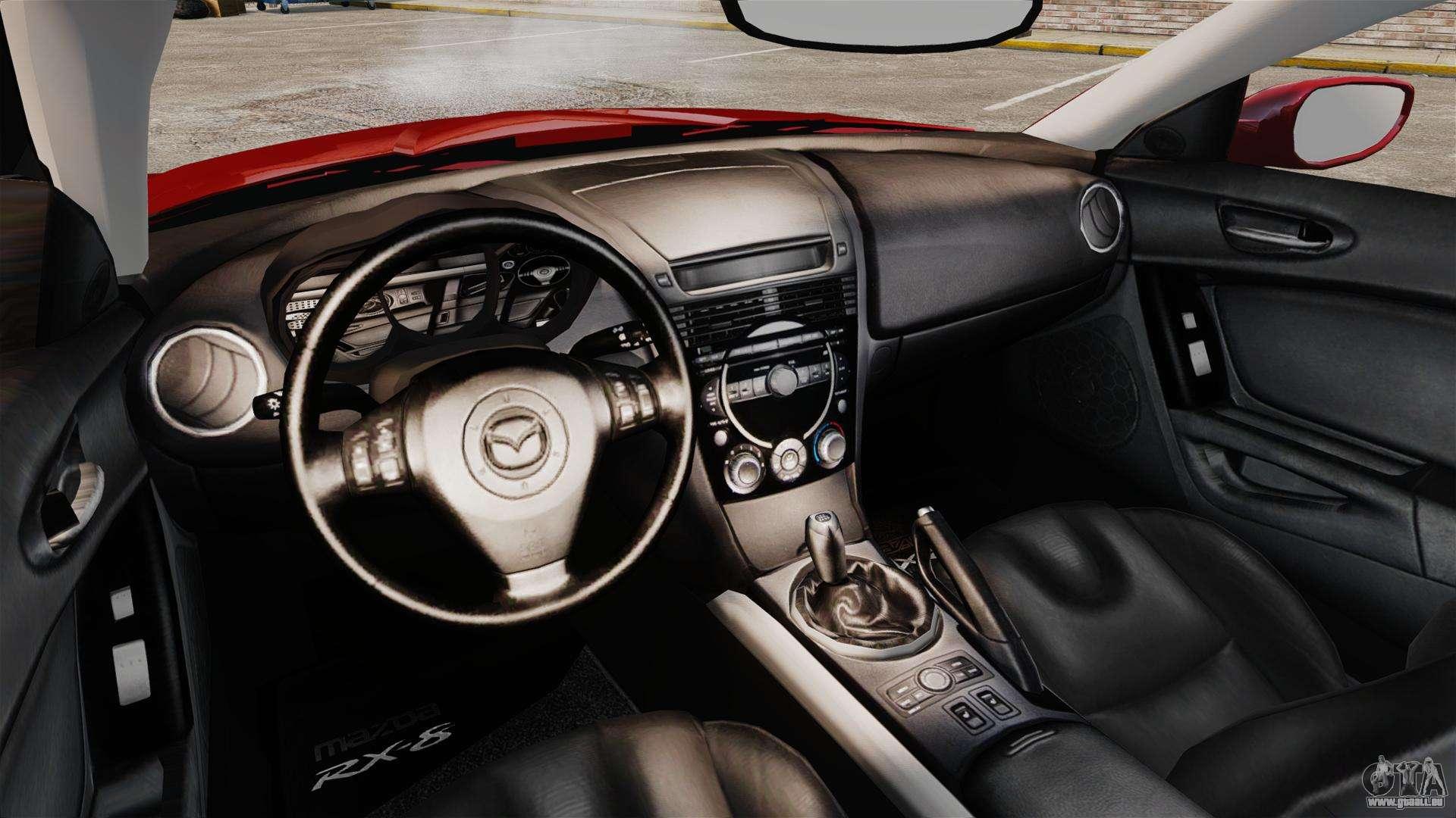 Mazda RX-8 Light Tuning für GTA 4