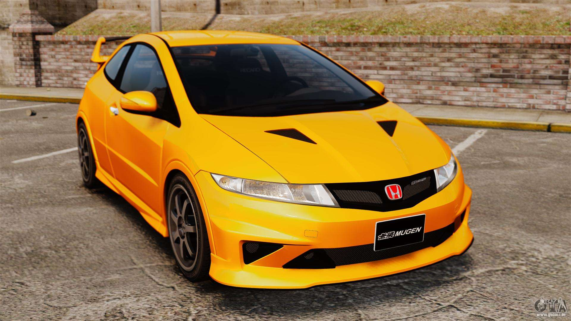 honda civic type r fn2 pour gta 4. Black Bedroom Furniture Sets. Home Design Ideas