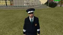 Officier de POLICE de circulation russe