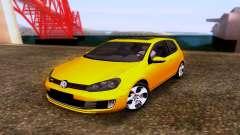Volkswagen Golf 6 GTI pour GTA San Andreas
