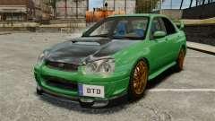 Subaru Impreza 2005 DTD Tuned pour GTA 4