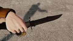 Das Alabama Slammer schwarz-Messer