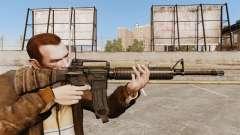 Eine amerikanische Sturmgewehr M16A4