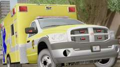 Dodge Ram Ambulance BCFD Paramedic 100