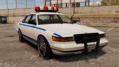 Polizei auf ein 20-Zoll-Laufwerken