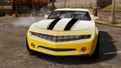 Chevrolet Camaro Bumblebee pour GTA 4