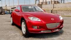 Mazda RX-8 Light Tuning pour GTA 4