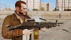 Leichtes Maschinengewehr M249 sah