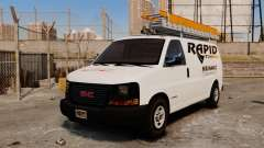 GMC Savana 2500 Rapid Towing Mechanic