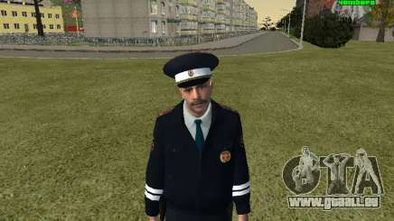 Officier de POLICE de circulation russe pour GTA San Andreas
