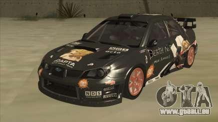 Subaru Impreza WRC Itasha pour GTA San Andreas