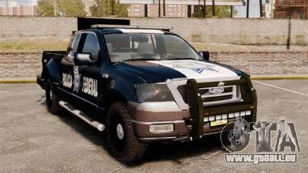 Ford F-150 De La Policia Federal [ELS & EPM] v1 für GTA 4