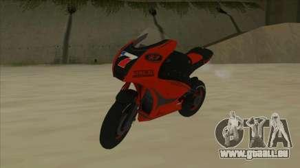 RP Motorsport Yamaha M1 pour GTA San Andreas