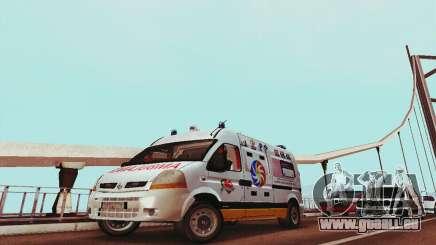 Renault Master PCSO AMBULANCE pour GTA San Andreas