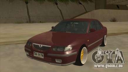 Mazda 626 Hellaflush für GTA San Andreas