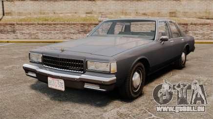 Chevrolet Caprice 1989 pour GTA 4