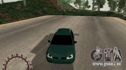 Kalina Lada 1117 pour GTA San Andreas