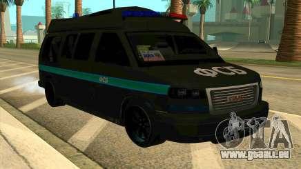GMC Savana AWD FSB für GTA San Andreas