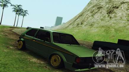 Volkswagen Rabbit GTI 1986 Cult Style pour GTA San Andreas