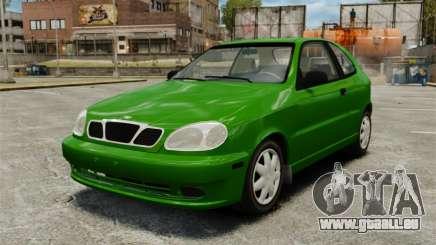 Daewoo Lanos FL 2001 US für GTA 4
