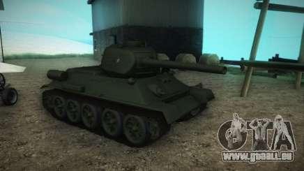 T-34-85 Modell 1945 für GTA San Andreas
