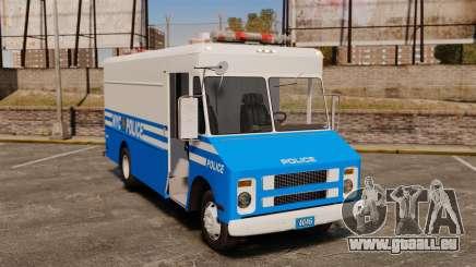 Chevrolet Step-Van 1985 NYPD pour GTA 4