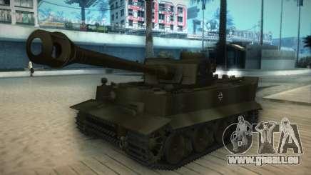 Pzkpfw VI Tiger I für GTA San Andreas