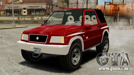 Suzuki Vitara JLX für GTA 4
