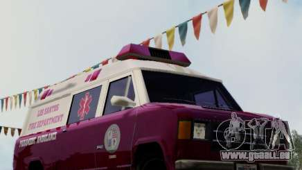 Vapid Ambulance 1986 pour GTA San Andreas