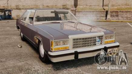 Ford LTD Crown Victoria pour GTA 4