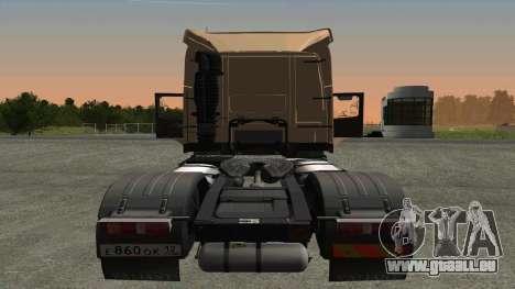 Volvo FM16 pour GTA San Andreas vue de droite