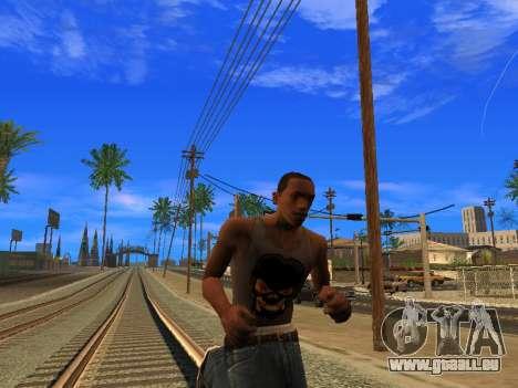 Nouveau Mike CJ pour GTA San Andreas quatrième écran