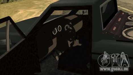 NEW Bobcat für GTA San Andreas Rückansicht