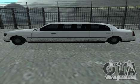 Le tronçon de GTA 5 pour GTA San Andreas laissé vue