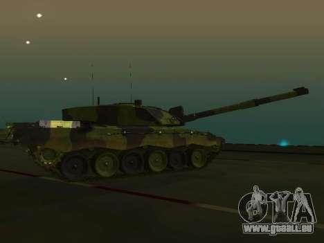 Challenger 2 pour GTA San Andreas laissé vue