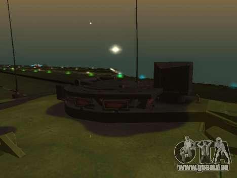 Challenger 2 pour GTA San Andreas vue arrière