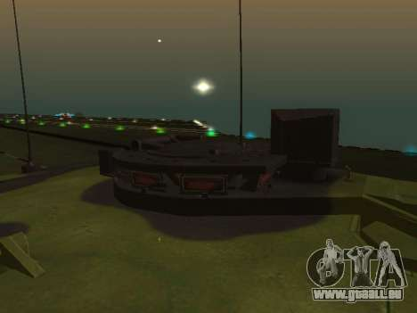 Challenger 2 für GTA San Andreas Rückansicht