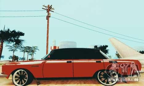 Moskvich 2140 pour GTA San Andreas sur la vue arrière gauche