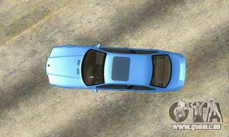 BMW M3 (E36) pour GTA San Andreas vue arrière