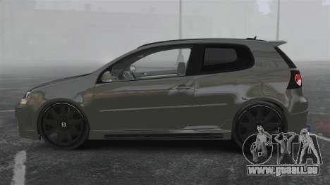 Volkswagen Golf GTi DT-Designs pour GTA 4 est une gauche
