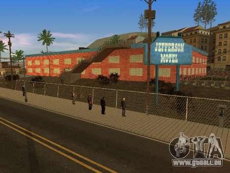 Nouvelles textures à Jefferson pour GTA San Andreas neuvième écran
