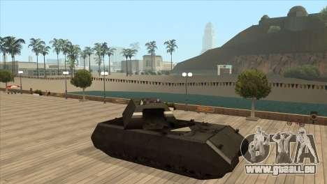 Panzerkampfwagen VIII Maus pour GTA San Andreas cinquième écran