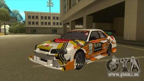 Nissan Skyline ER34 Uras GT Blitz 2010 für GTA San Andreas