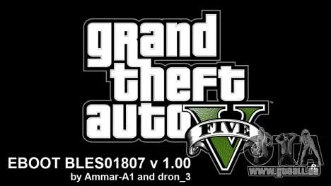 GTA 5 Hacks For 1.00 By Ammar-A1 V4 BLES pour GTA 5