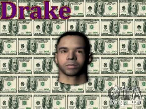 Drake pour GTA San Andreas troisième écran