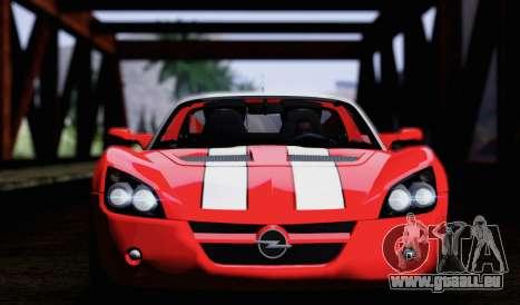 Opel Speedster Turbo 2004 pour GTA San Andreas vue de côté