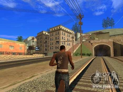 Nouveau Mike CJ pour GTA San Andreas troisième écran