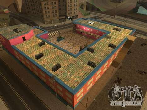 Nouvelles textures à Jefferson pour GTA San Andreas huitième écran